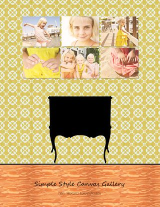Simple style canvas gallery_web