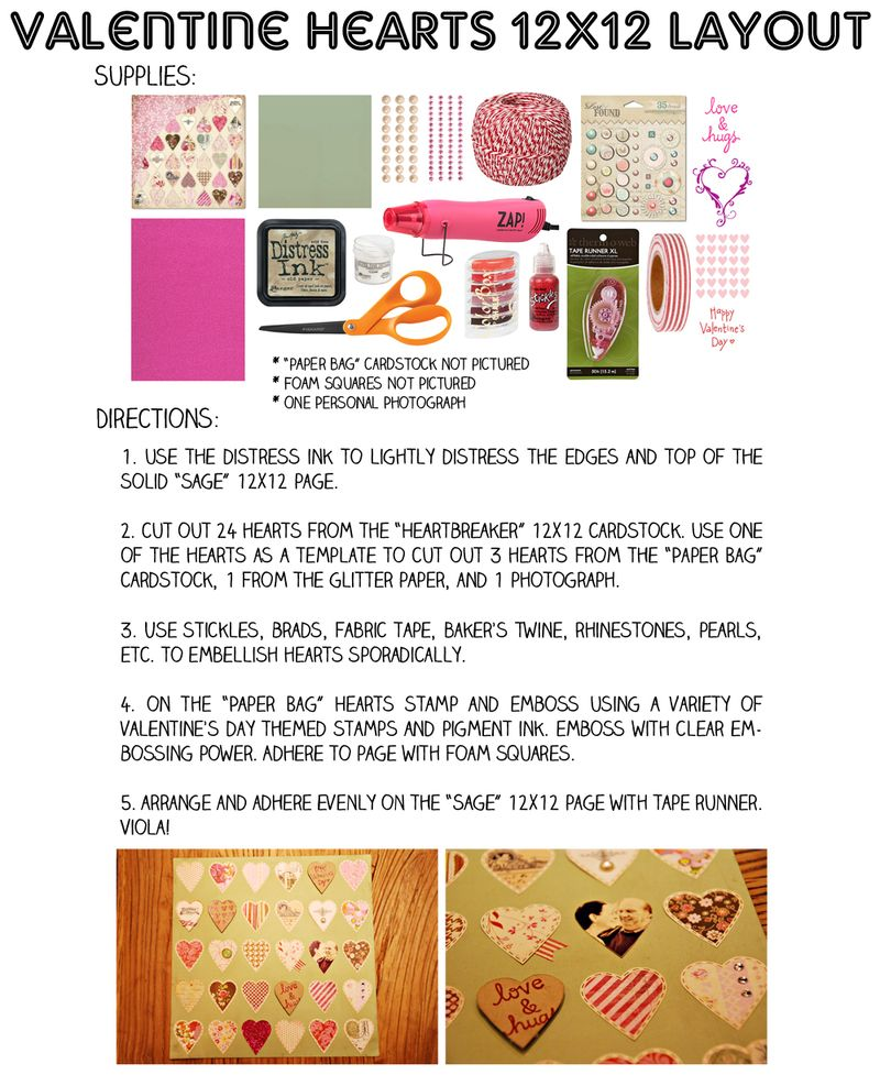 Valentine hearts 12x12 layout_web